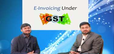 E-Invoicing under GST covering